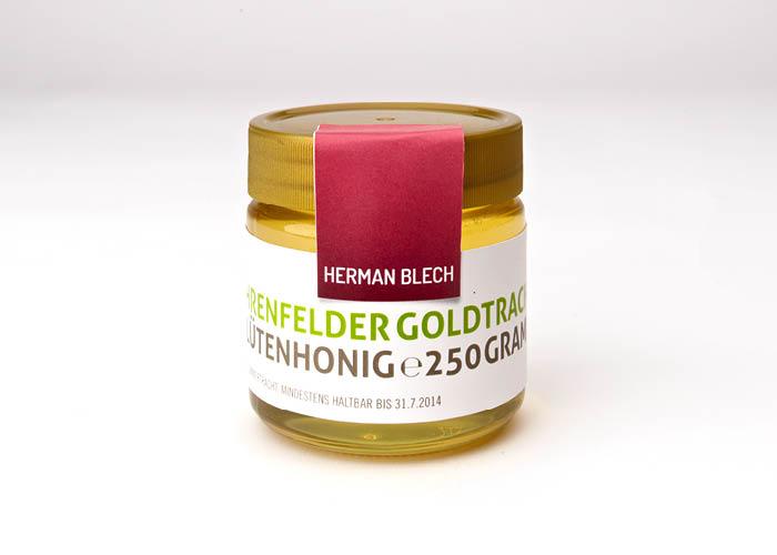 Ehrenfelder Goldtracht Blütenhonig, Handmade von HERMAN BLECH