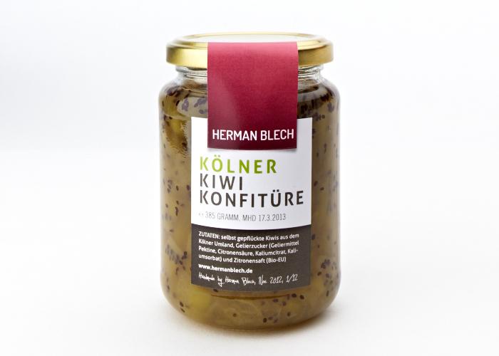 Kölner Kiwi Konfitüre, Handmade von HERMAN BLECH