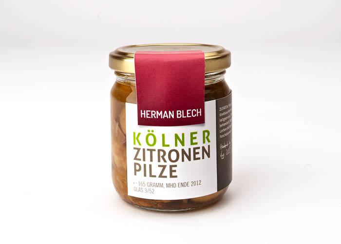 Kölner Zitronen Pilze, Handmade von HERMAN BLECH