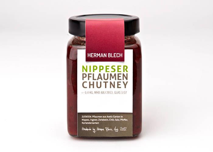 Nippeser Pflaumen Chutney, Handmade von HERMAN BLECH