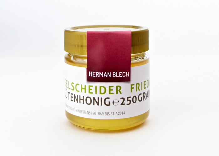 Seelscheider Frieden Blütenhonig, Handmade von HERMAN BLECH